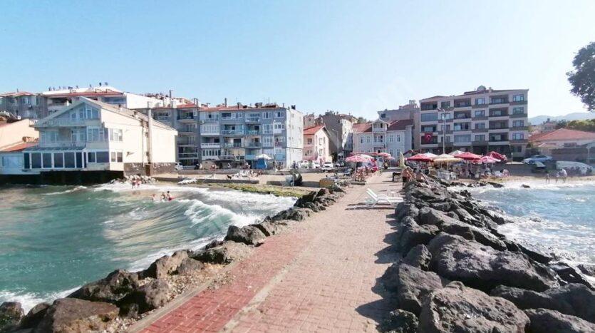 Mudanya Halitpaşa'da Denize Sıfır 3+1 Daire