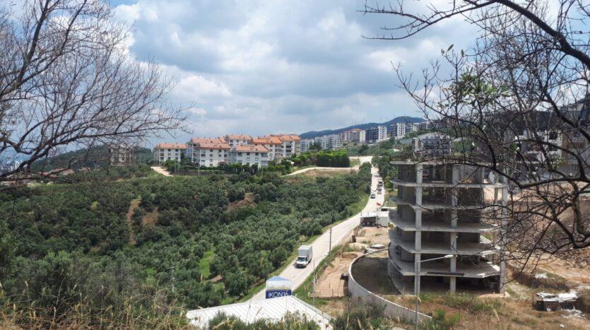 Mudanya Burgaz'da Deniz Manzaralı İmarlı Arsa